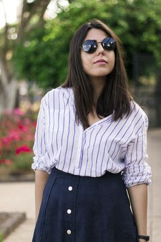 An Unusual Style: Suede Skirt #kissmylook