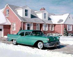 1957 Oldsmobile 88 Four Door Sedan