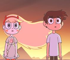 Starco is so cute Cartoon Cartoon, Cartoon Shows, Cartoon Ideas, Starco, Disney Xd, Disney Love, Abrazo Gif, Star E Marco, Bd Art