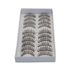 10 Pairs Natural False Eyelashes Fake Eyelash #385B Review | Best Eyelash Growth. #10PairsNaturalFalseEyelashesFakeEyelash#385B