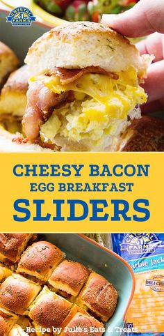 The perfect breakfast baked into bite-size morsels as irresistibly cute as they are delicious. Plus, since they're smaller, that means you get to have more, right? Bite Size Breakfast, Breakfast Slider, Perfect Breakfast, Breakfast Dishes, Breakfast Time, Healthy Breakfast Recipes, Brunch Recipes, Brunch Ideas, Breakfast Ideas