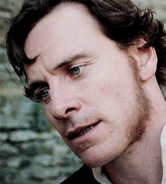 Mr Rochester as played by the gorgeous Michael Fassbender.