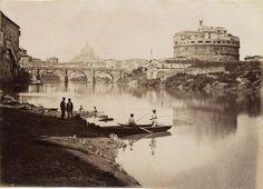 File:Fratelli D'Alessandri - Roma - Veduta generale del Ponte e Castel S. Angelo