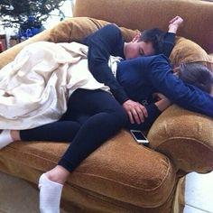 Cuddling-love this chair too
