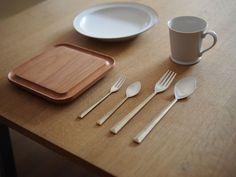 modernist table setting
