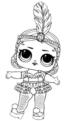 lol surprise dolls coloring pages that are blank  lol surprise doll  diva  lol surprise doll