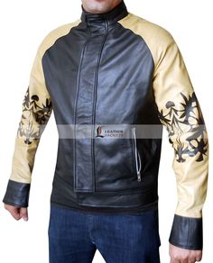 Buy Kung Fury David Hasselhoff (Hoff 9000) Leather Jacket at Best price with free shipping to USA, UK and Canada from www.LeathersJackets.com