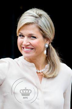 Koningin Máxima bij uitreiking medaille | ModekoninginMaxima.nl