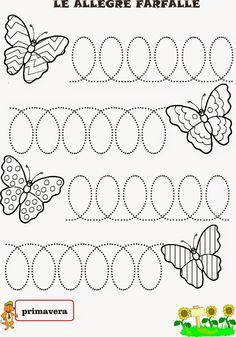 A Scuola con Poldo: Una storia primaverile: la farfalla e la lumachina