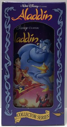 (TAS034360) - 1994 Disney Coke Classic Collectible Series Glass - Aladdin
