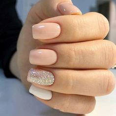 Square nails suitable for fall and winter coats Source Stylish Nails, Trendy Nails, Cute Acrylic Nails, Cute Nails, Dipped Nails, Dream Nails, Square Nails, Perfect Nails, Nail Manicure