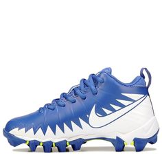 Nike Kids' Alpha Menance Shark Football Cleat Pre/Grade School Shoes (Game Royal)