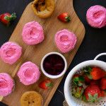 Strawberry Beet Cupcakes + The Food Photography E-Course