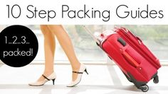 Need help packing? Check out Travel Fashion Girl's 10 Step Packing Guides! http://travelfashiongirl.com/10-step-packing-guides/