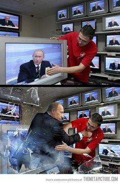 Never mess with Vladimir Putin…