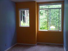 Empty Yellow Room Background 7