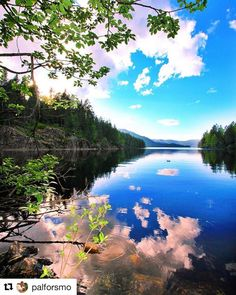 Nydelig! #reiseliv #reisetips #reiseblogger #reiseråd  #Repost @palforsmo (@get_repost)  Kajakktur i Fjellvannet - Kayaking in Fjellvannet #visittelemark #bns_norway