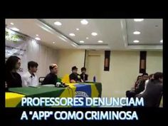 """""""A APP sindicato da CUT que controla os Professores idiotas úteis do Paraná é criminoso."""" E recebe uma verba de 35 milhões, muito maior do..."""
