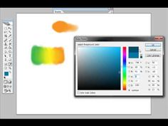 Digital Painting in Photoshop - Blending Colors - YouTube set the opacity dither adjust to pressure... and more