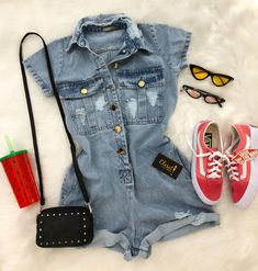 Teen Fashion Outfits, Cute Fashion, Fall Outfits, Summer Outfits, Womens Fashion, Mode Rockabilly, Jugend Mode Outfits, Cute Casual Outfits, Types Of Fashion Styles