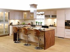 wood all around island Wood, Wide Awake, Kitchen, Table, House, Furniture, Island, Home Decor, Cuisine