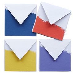 Dipped stationery from John Robshaw.