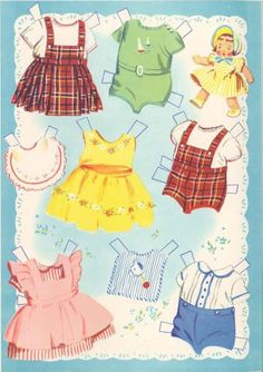 Paper Dolls~ Baby Brother and Sister - Yakira Chandrani - Picasa Web Albums