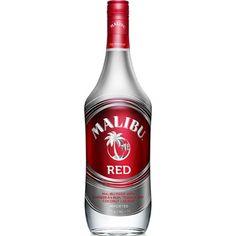 Malibu Rum • Red