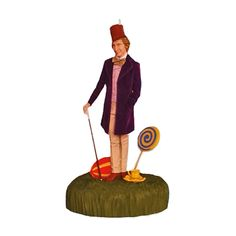 hallmark 2017 willy wonka the chocolate factory willy portrayed by the late great gene hallmark keepsake ornamentshallmark - Hallmark Christmas Decorations 2017