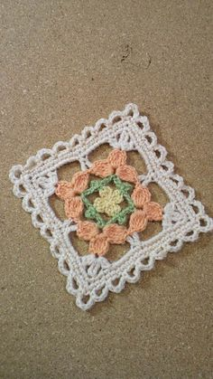 かぎ針編み コサージュ付き小物DN2の画像 | 野の花手芸噺