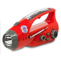 Emergency Flashlight  Radio Accelerated Charging Capabilities via USB Solar Hand Crank Dynamo and Self Powered  Bright LED  Rechargeable  Unlimited 3Year Warranty -- Want to know more, click on the image. #LightsandLanterns