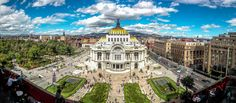 https://flic.kr/p/qxbSUt | Palacio de Bellas Artes Panorama on December 25th (Mexico City. #Photograph by Gustavo Thomas © 2014) | December 25th, it was a wonderfully sunny and blued sky day in Mexico City.  Palacio de Bellas Artes panorama (Mexico City. Gustavo Thomas © 2014)