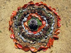 """The kids created """"Land Art"""" today to be used on notecard sets to sell to raise money for their Art, Music, PE and Assemblies. A great piece for a beginner artist! and it's WONDERFUL for the price!"""