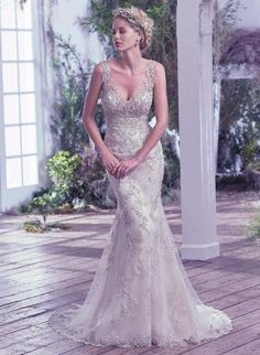 Maggie Bridal by Maggie Sottero Greer-6MG799 Maggie Sottero Haute Couture Amanda-Lina's Sposa Boutique - Wedding Gowns, Prom, Bridesmaid and Evening Dresses