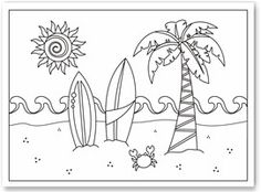 Coloring sheets to use as stencils