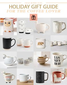 Looking for the perfect gift for the coffee lover, tea drinker or hot chocolate maker? Weve rounded up the BEST unique coffee mugs to nestle under the tree. Christmas presents and stocking stuffer ideas.