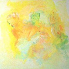 Orchestra 70x70cm : peinture à l'huile sur toile réalisée sur commande