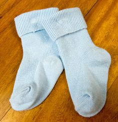 Baby socks. From Dr Steven Thou.