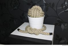 Monkeys fist knot decoration.