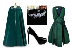 """Elven Outfit"" by accio-hogwarts-81 ❤ liked on Polyvore featuring A.W.A.K.E. and Sergio Rossi"