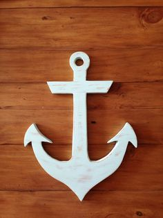 Wooden Green Anchor Wall Decor Art Hanging by TroyerWoodCreations, $25.00