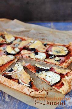 Pizza białkowa (bez mąki)