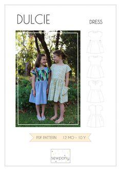 FREE PATTERN: DULCIE DRESS  www.sewpony.com