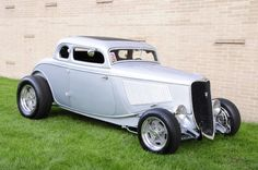 1934 Ford 5 window coupe - Classic Hot Rod - Chopped Top