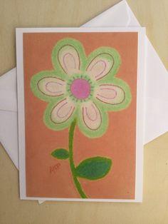 Stationery Cards  Set of 10- Key Lime Junior Petal
