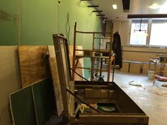 Do you recognize our Basil Kitchen at the Mart? Out with the old, in with the new!