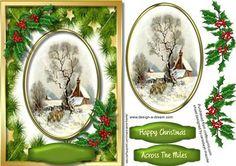 Christmas Across the Miles  on Craftsuprint - Add To Basket!