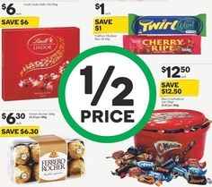 Anyone out there a #chocoholic ? This week at #woolies these #chocolate products are #halfprice #stockup #onsale 16-22/3/16 #mar16 My fave is the #ferrorocher #yum What's your favourite? @woolworths_au #savvysaver