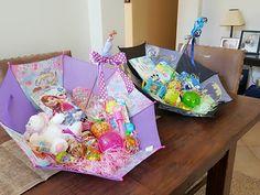 Umbrella Easter Baskets