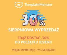 Ostatnie dni sierpnia -30% w sklepie TemplateMonster // #Drupal